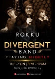 Divergent Band - Playing Nightly (Tue - Sun 8pm - 12am)