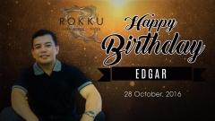 EDGAR Happy Birthday