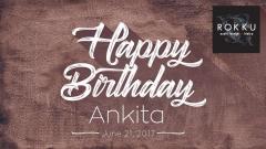 Happy Birthday Ankita