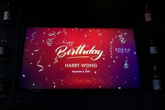 Happy Birthday Harry Wong - September 2nd, 2019