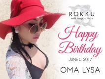 Happy Birthday to Ms. OMA LYSA