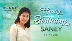 Happy Birthday Saney