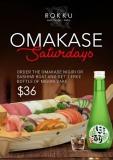 Omakase Saturdays (August 2017)