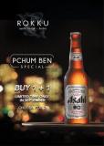 Pchum Ben Special Buy 1 + 1 Asahi Beer