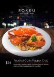 Roasted Garlic Pepper Crab