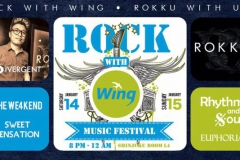 Rock With Wing Music Festival